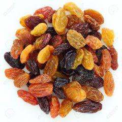 Rozijnen gemengd 500 gram