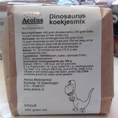 Dinosaurus koekjesmix