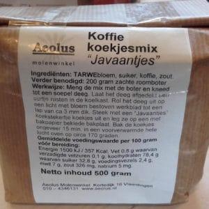 Koffiekoekjes Javaantjes mix