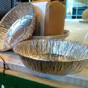 Aluminium vormpjes 4 stuks