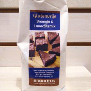 Glutenvrije brownie | Lavacake 1000 gram